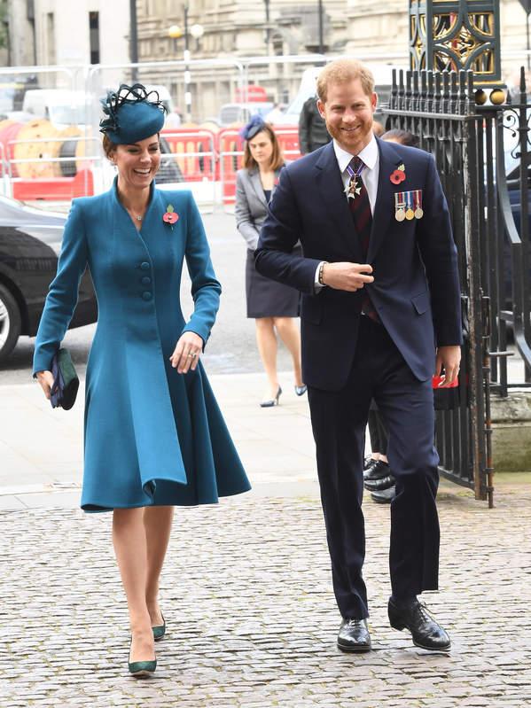 Książę Harry, księżna Kate