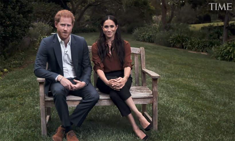 Książę Harry, księżna Meghan, przemowa dla TIME 2020
