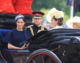 Książę Harry, księżna Meghan, Trooping The Colour