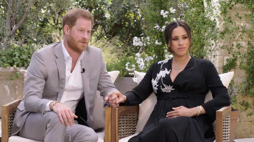Książę Harry, Meghan Markle, Księżna Meghan, wywiad u Oprah Winfrey