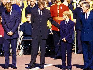 Książę Harry o pogrzebie matki