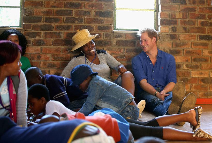 Książę Harry w Lesotho