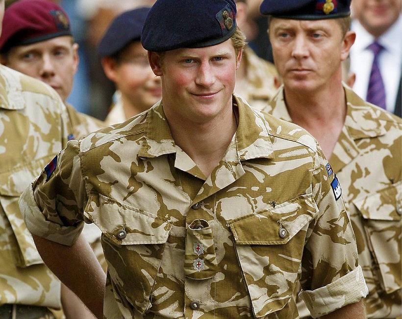 Książę Harry w wojsku, książę Harry