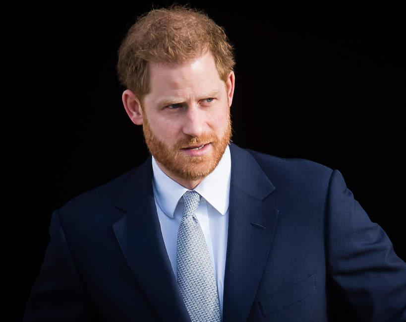 Książę Harry w złym stanie?