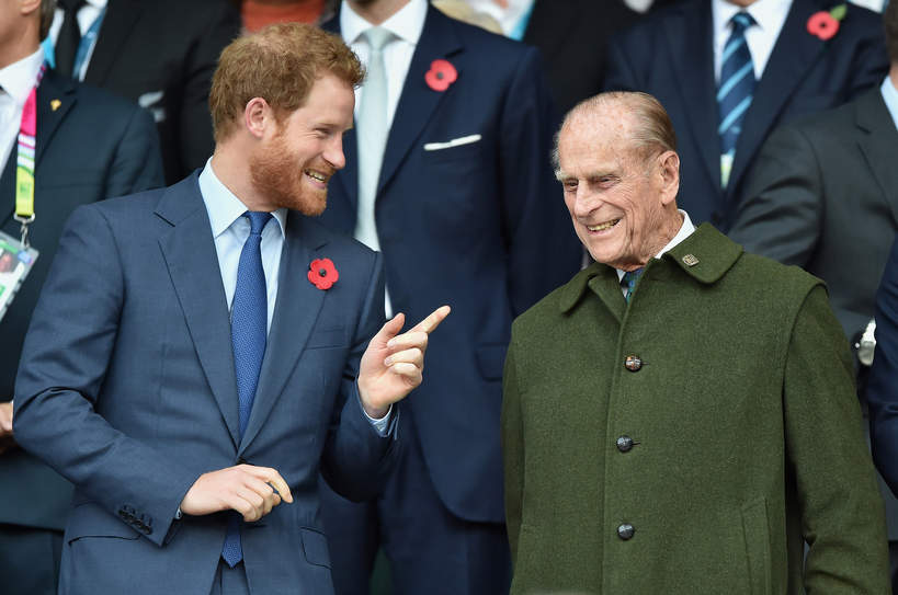 Książę Harry wróci do domu ze względu na zły stan zdrowia księcia Filipa?