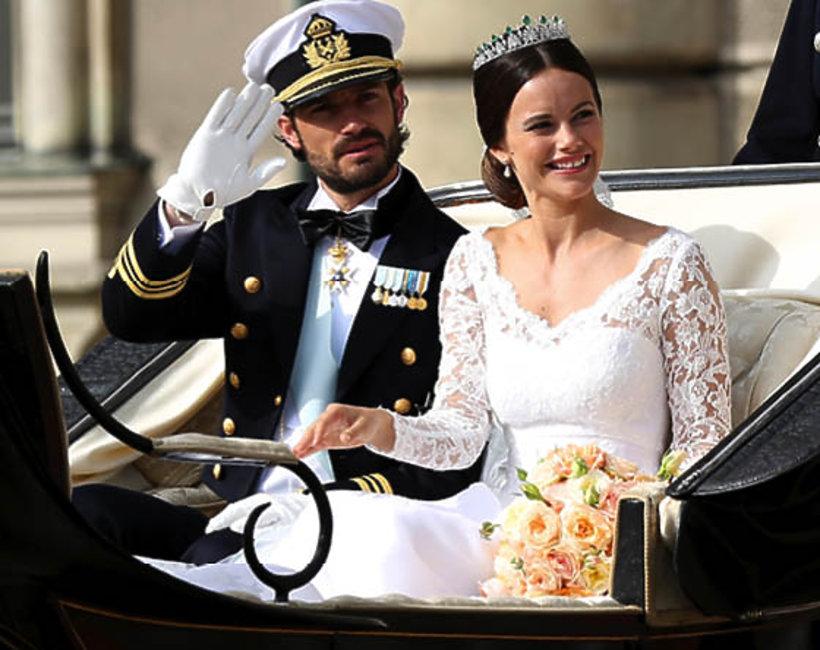 książę Karol Filip, ślub