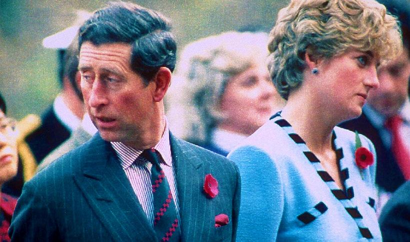 Książę Karol i księżna Diana MT