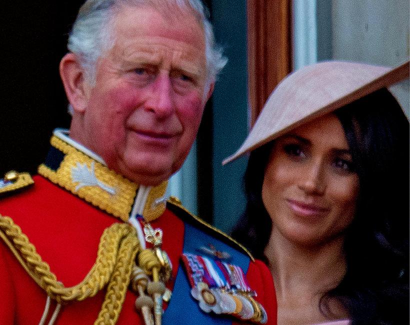 Książę Karol i Meghan Markle