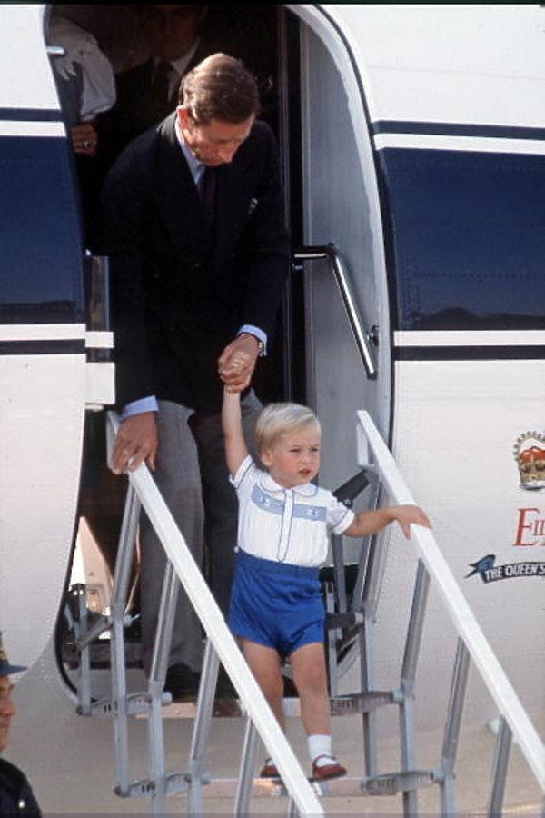 Książę Karol, książę William