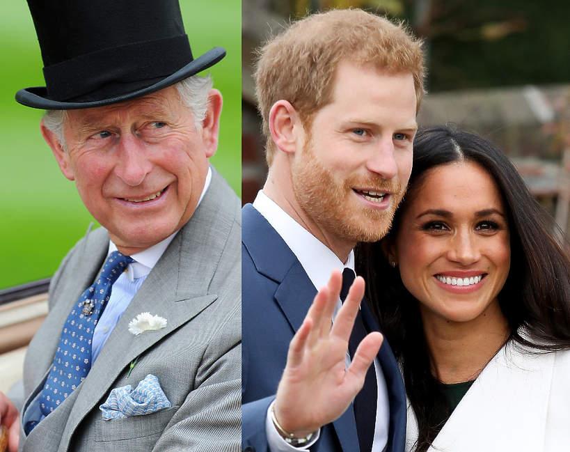Książę Karol skomentował narodziny córki Meghan i Harry'ego