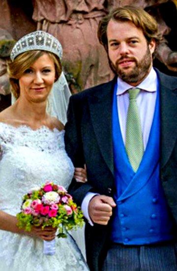 Książę Leiningen Ferdynand, księżniczka Viktoria Luise z Prus, śluby królewskie