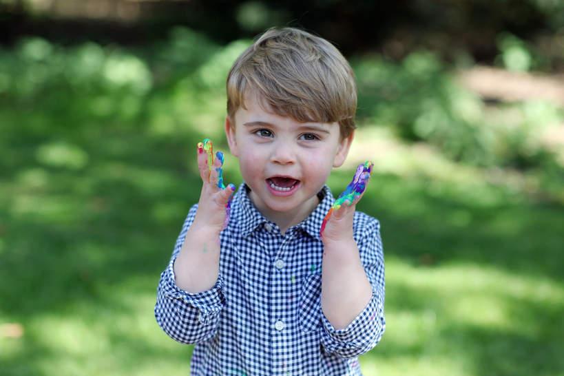 Książę Louis, 2. urodziny