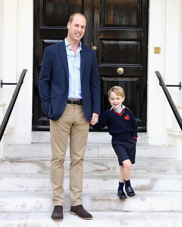 Książę William i książę George
