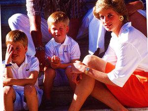 Książę William i książę Harry idą w ślady księżnej Diany