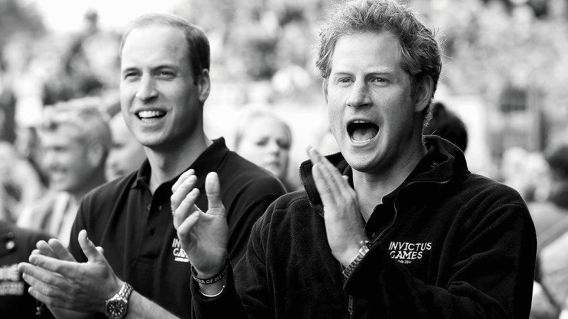 Książę William i książę Harry idą w ślady księżnej Diany MT
