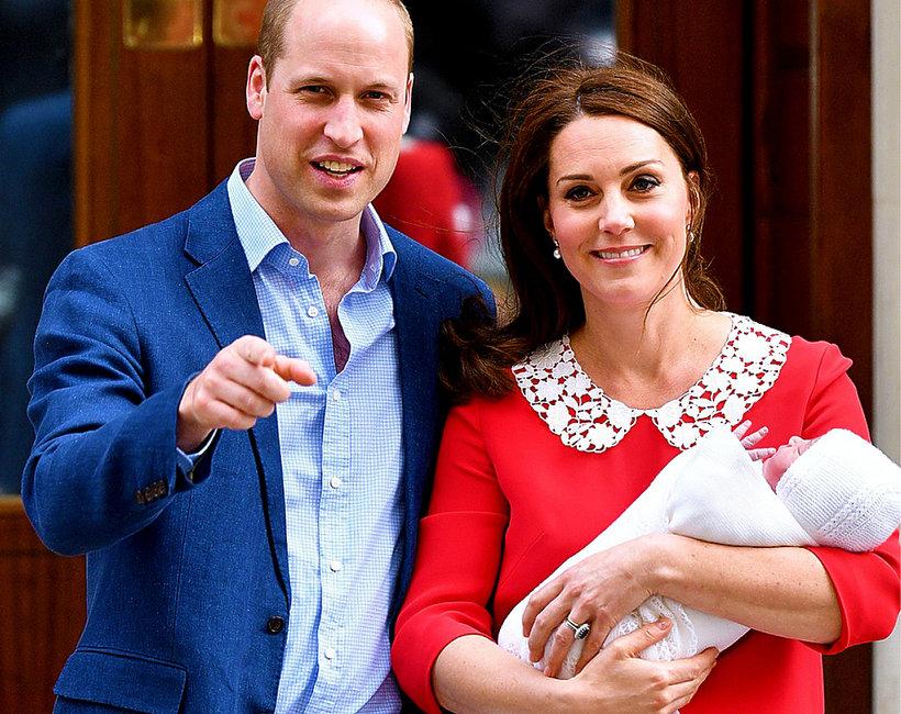 Książę William i księżna Kate z trzecim dzieckiem