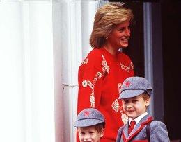 Książę William, książę Harry, księżna Diana, 1989 rok
