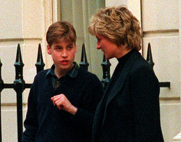 Czternastoletni William, gdy Diana rozwodziła się z Karolem, zawzięcie walczył w jej obronie!