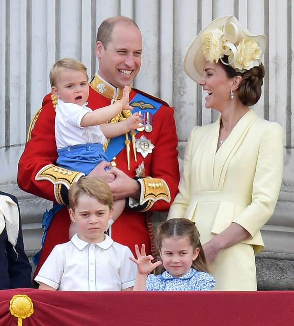 Książę William, księżna Kate, George, Charlotte, Louis, 2019 rok