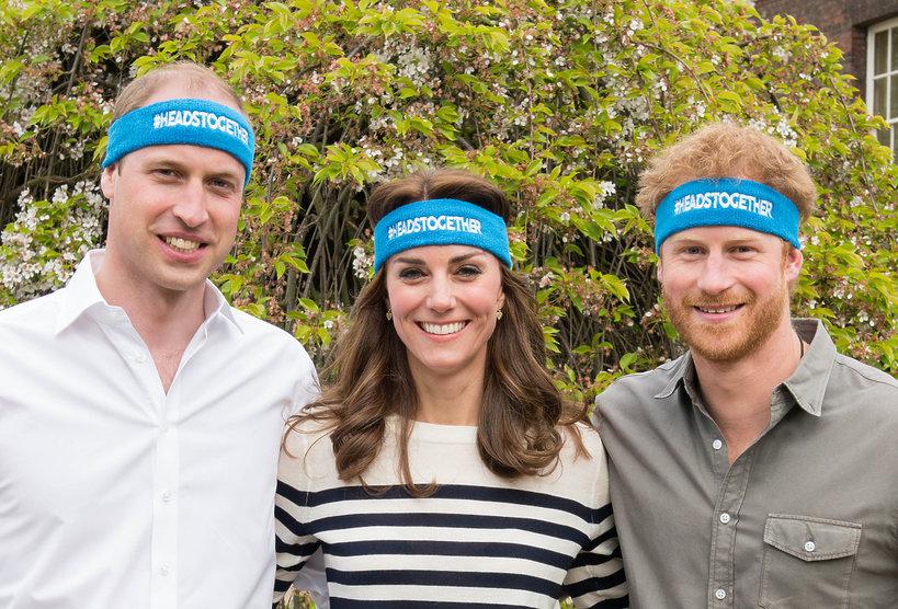 Książę William, księżna Kate i książę Harry dla Heads Together