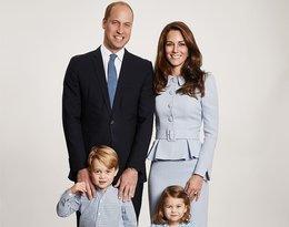Książę William, księżna Kate, książę George, księżniczka Charlotte