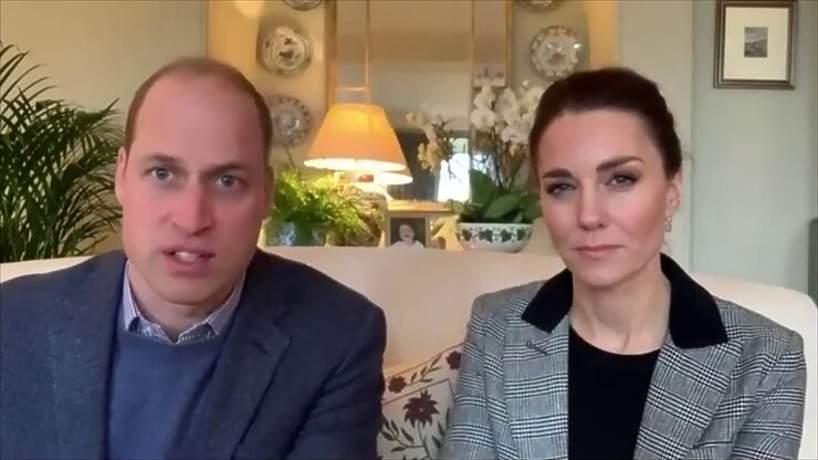Książę William, księżna Kate, rozmowa z Homerton University Hospital, 13.01.2021