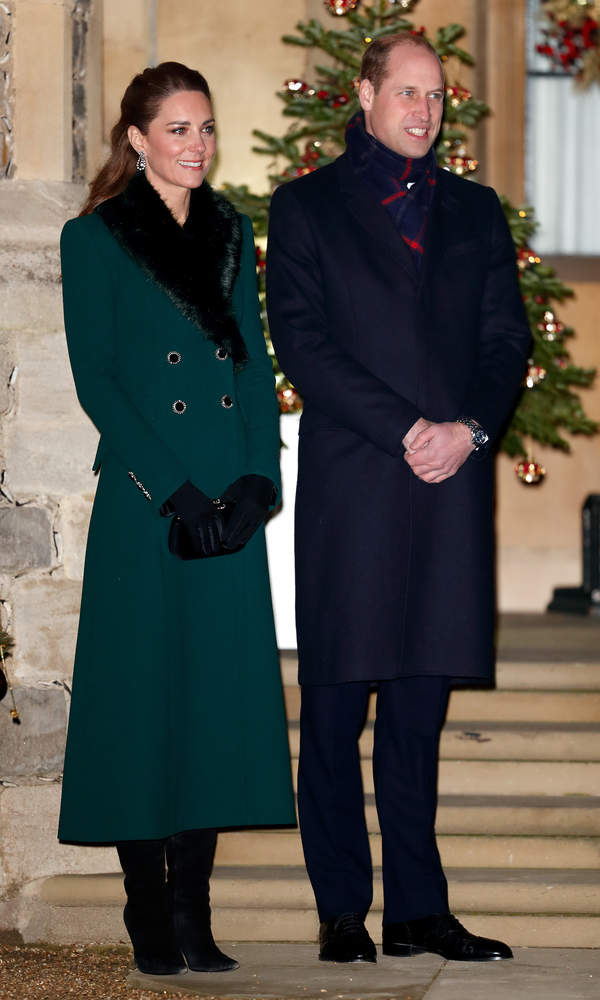 Książę William, księżna Kate, Windsor, grudzień 2020
