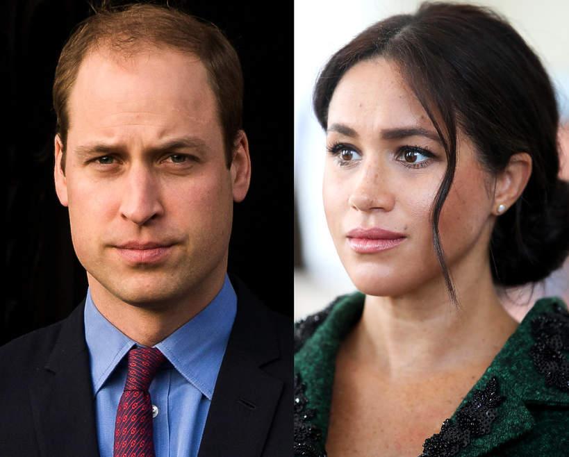 Książę William ostrzega Meghan. Konflikt trwa?