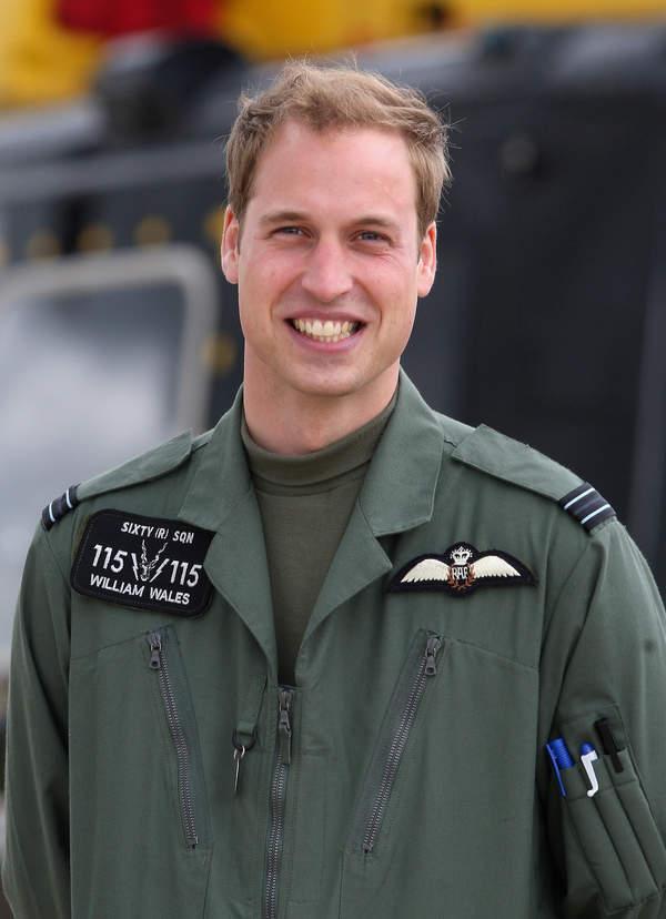 Książę William w mundurze RAF