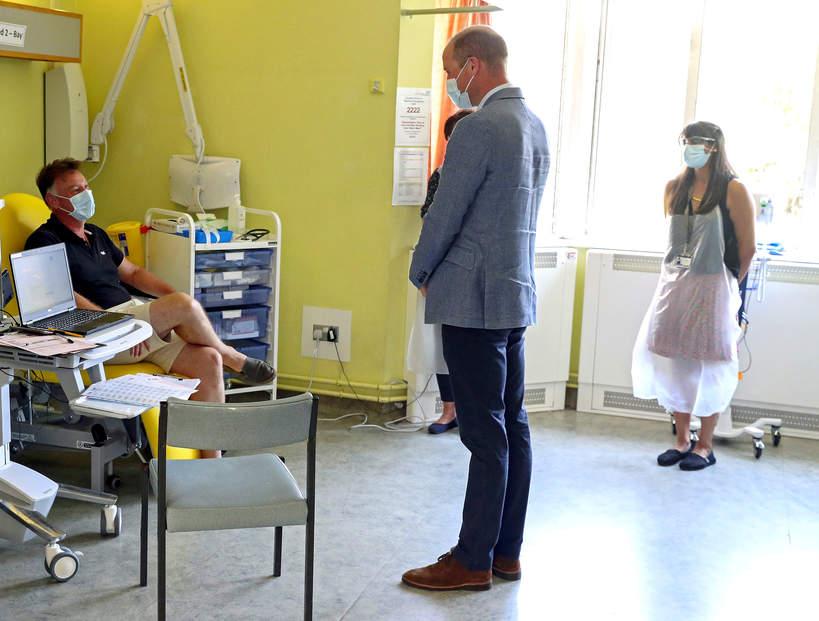 książę William w szpitalu z powodu koronawirusa