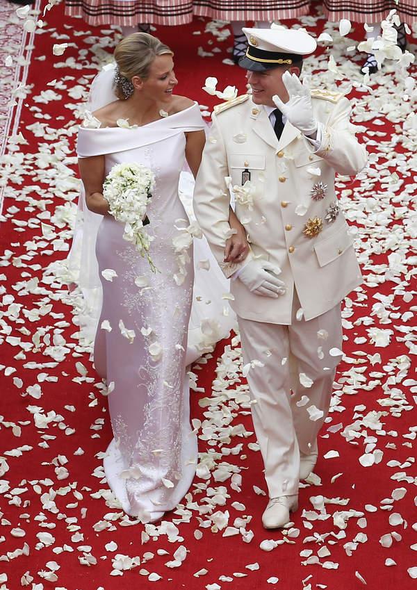KsiążęAlbert, księżna Charlene ślub