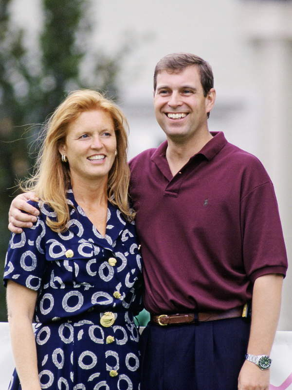 książęAndrzej i księżna Sarah