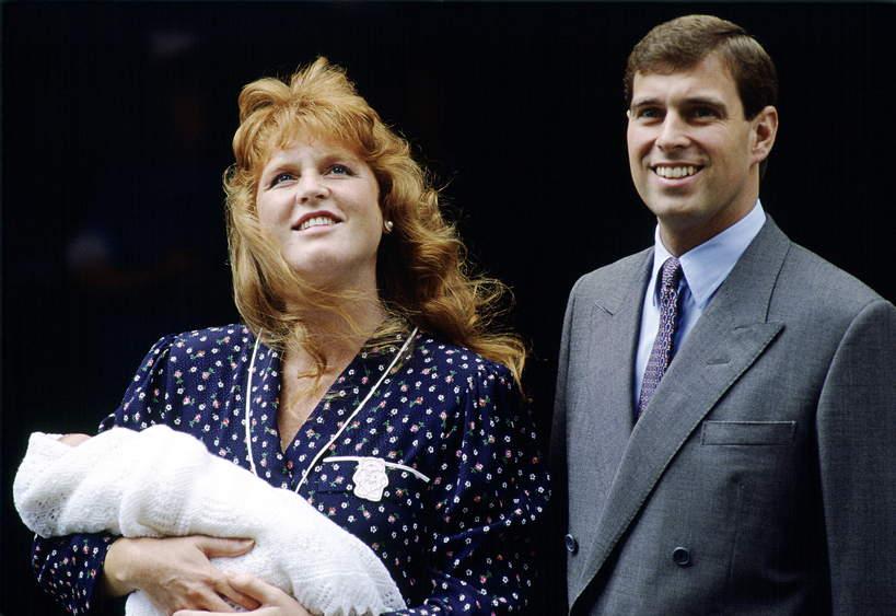 książęAndrzej i księżna Sarah dzieci