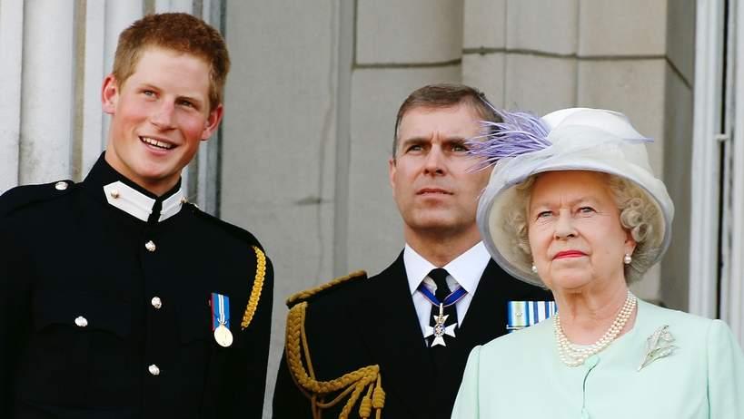 KsiążęAndrzej, książęHarry