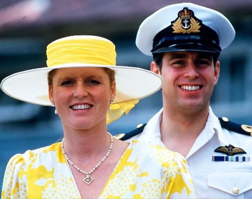 książęAndrzej, księżna Sarah Ferguson