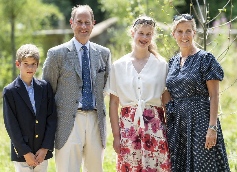książęEdward Wessex dzieci, Ludwika Windsor, James Windsor, Sarah Wessex