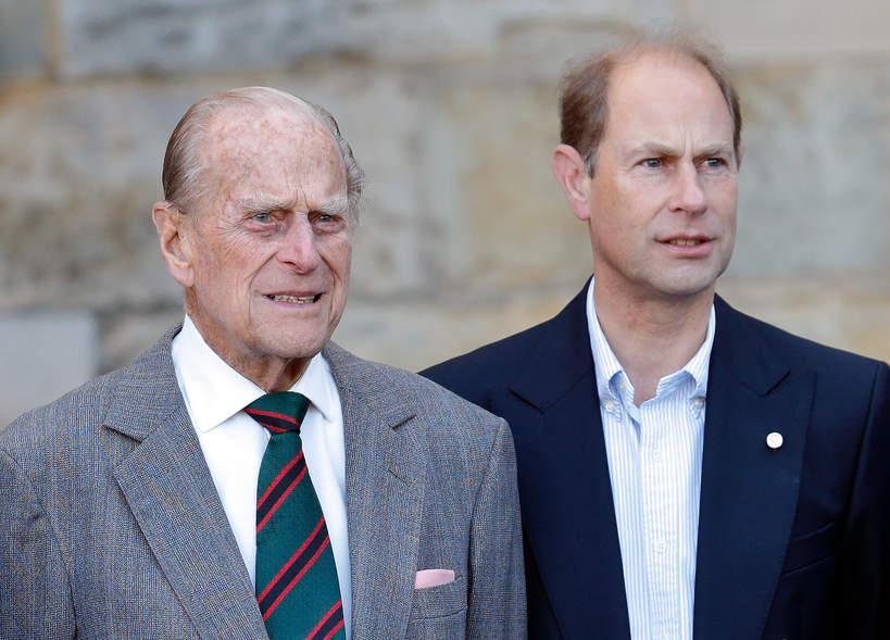 książęFilip i hrabia Edward