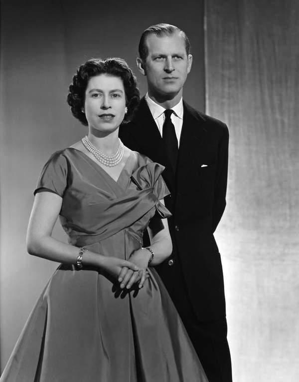 KsiążęFilip, królowa Elżbieta II