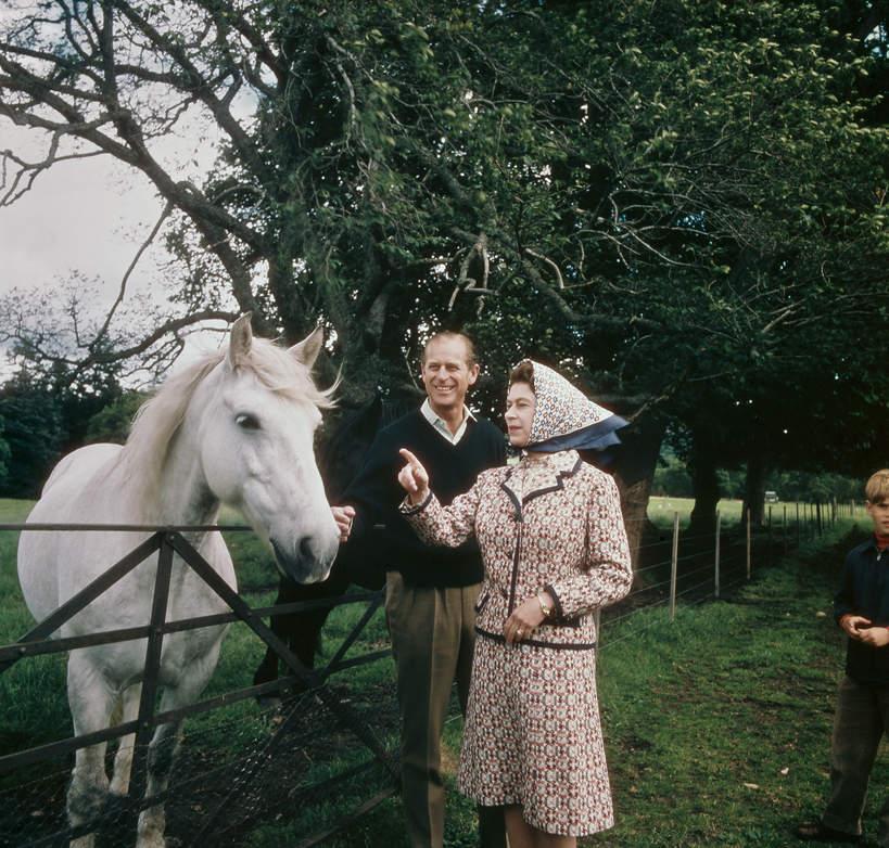 KsiążęFilip, mąż królowej Elżbiety II