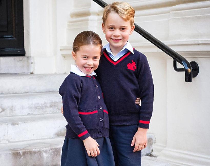 książęGeorge i księżniczka Charlotte, oficjalne zdjęcia brytyjskiej rodziny królewskiej
