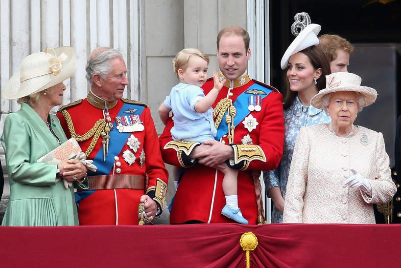 KsiążęGeorge, królowa Elżbieta II