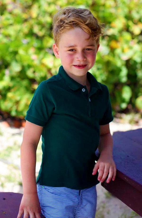 KsiążęGeorge, Oficjalne zdjęcia księcia George'a - 6 urodziny