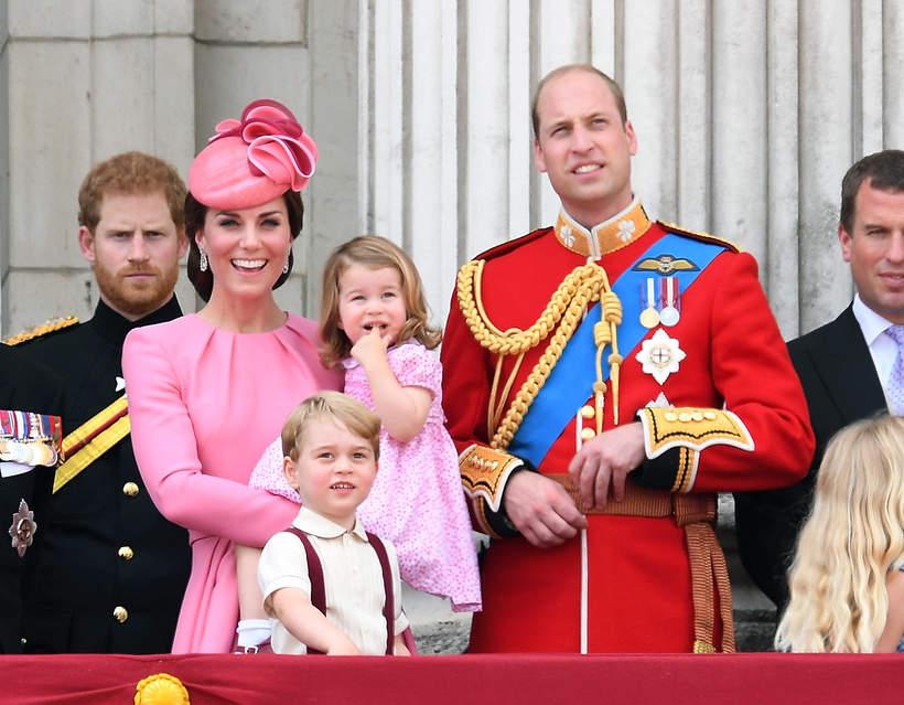 KsiążęGeorge rodzina