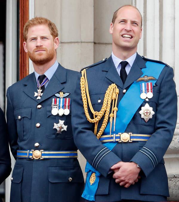 KsiążęHarry, książęWilliam rozmowa