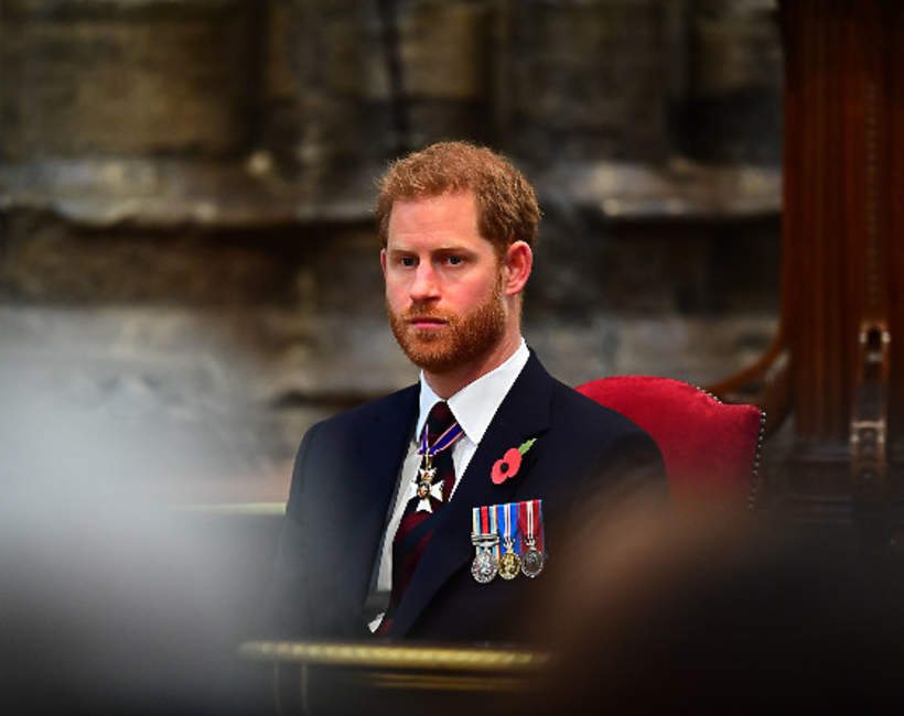 KsiążęHarry załamanie nerwowe