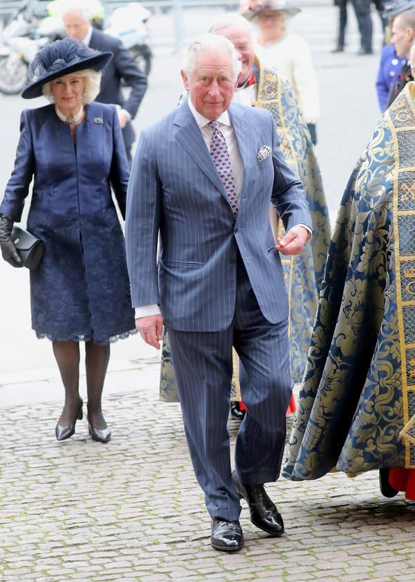 KsiążęKarol i księżna Camilla na Dniu Wspólnoty Narodów