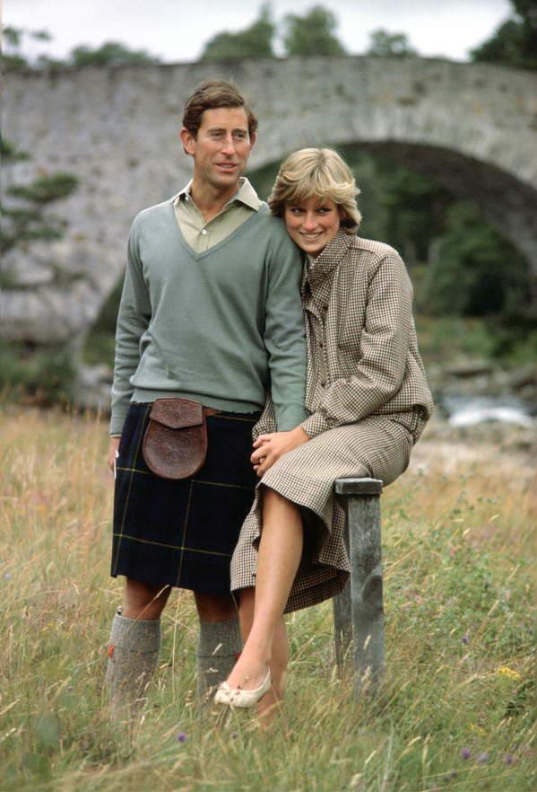 KsiążęKarol i księżna Diana noc poślubna