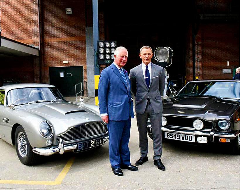 KsiążęKarol, James Bond, Bond 25, Daniel Craig
