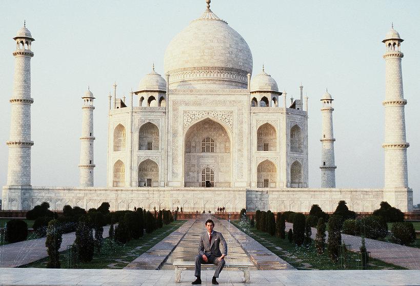 KsiążęKarol Taj Mahal