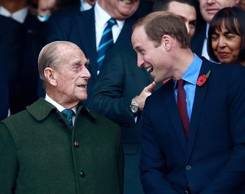 książęWilliam hołd dla księcia Filipa
